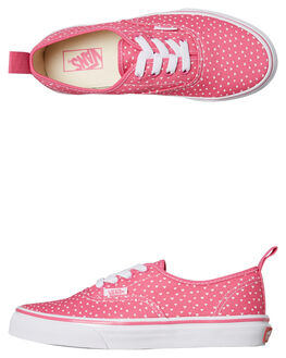 CARMINE ROSE KIDS GIRLS VANS SNEAKERS - VNA38H4VIACROSE