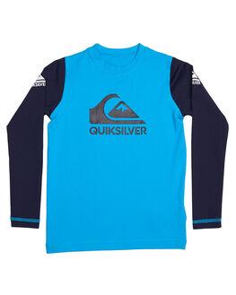 BLUE DANUBE SURF RASHVESTS QUIKSILVER TODDLER BOYS - UQKWR03042XBKB