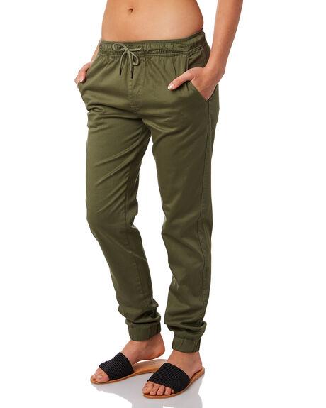 KHAKI WOMENS CLOTHING SWELL PANTS - S8161195KHAKI