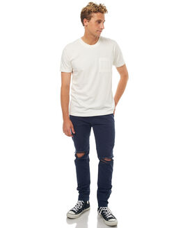OFF WHITE MENS CLOTHING NUDIE JEANS CO TEES - 131532W04