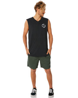 FOREST MENS CLOTHING SANTA CRUZ SHORTS - SC-MBNC262FOR