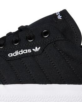 BLACK WHITE WOMENS FOOTWEAR ADIDAS SNEAKERS - SSB22706BLKW
