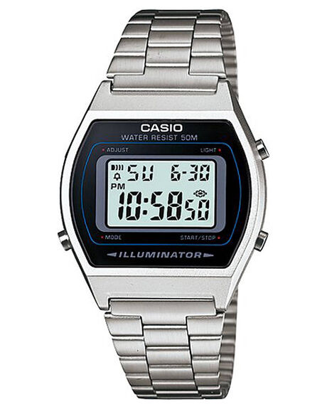 SILVER MENS ACCESSORIES CASIO WATCHES - B640WD-1A