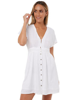 WHITE WOMENS CLOTHING THE HIDDEN WAY DRESSES - H8171455WHITE
