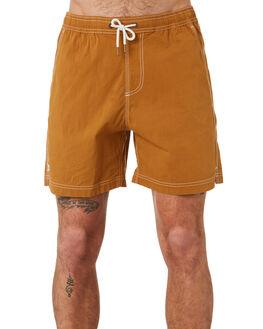 CAMEL MENS CLOTHING MCTAVISH BOARDSHORTS - MS-19BS-06CAM