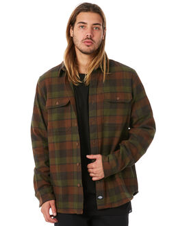 GREEN MENS CLOTHING DICKIES SHIRTS - K1181104GR