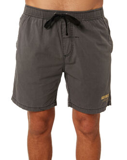 MERCH BLACK MENS CLOTHING THRILLS BOARDSHORTS - TS8-302MBMERBK