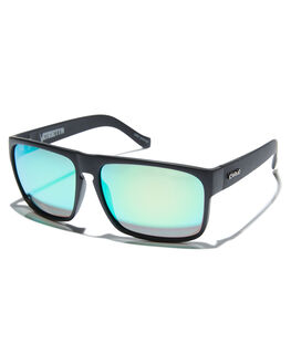 MATTE BLACK IRIDIUM MENS ACCESSORIES CARVE SUNGLASSES - 2452MBLKI