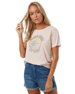 BLUSH WOMENS CLOTHING TEE INK TEES - CAST70ABLU