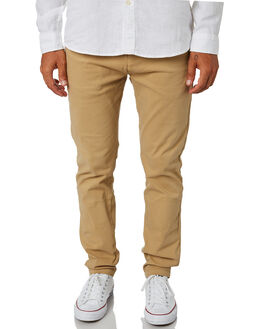 NEW COFFEE MENS CLOTHING ACADEMY BRAND PANTS - 19W109NCOF
