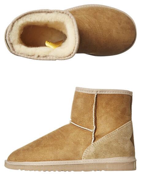 CHESTNUT WOMENS FOOTWEAR UGG AUSTRALIA UGG BOOTS - SSMINCHEW