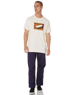CREAM MENS CLOTHING PASS PORT TEES - PPKITSCHCREAM