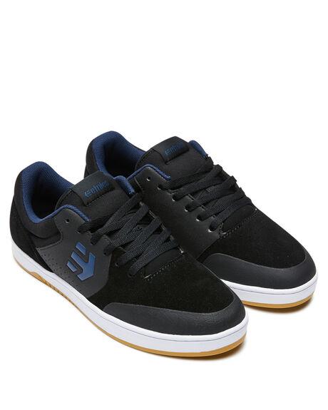 BLACK BLUE MENS FOOTWEAR ETNIES SNEAKERS - 4101000403587