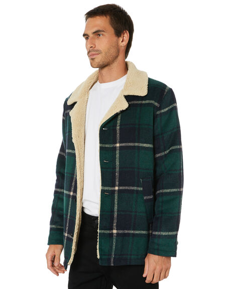 FOREST CHECK MENS CLOTHING ROLLAS JACKETS - 15820288