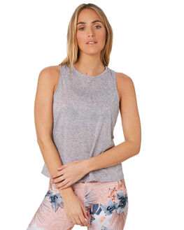 GREY MARL WOMENS CLOTHING LORNA JANE ACTIVEWEAR - 111953GRMRL
