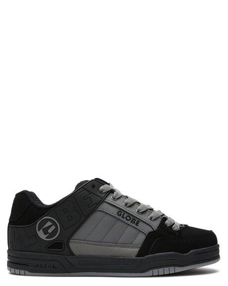 BLACK CHARCOAL MENS FOOTWEAR GLOBE SKATE SHOES - GBTILTBKCHR