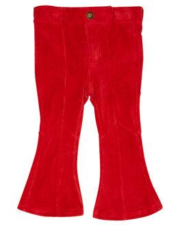 RED KIDS GIRLS ROCK YOUR KID PANTS - TGP1939-FRRED