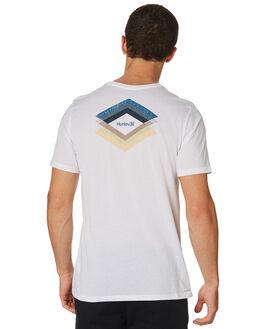 WHITE MENS CLOTHING HURLEY TEES - AJ1735100