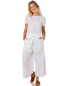 WHITE WOMENS CLOTHING RUSTY PANTS - PAL1075WHT