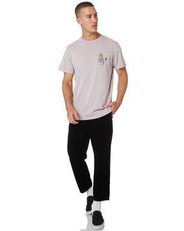 BLACK MENS CLOTHING MISFIT PANTS - MT095603BLK