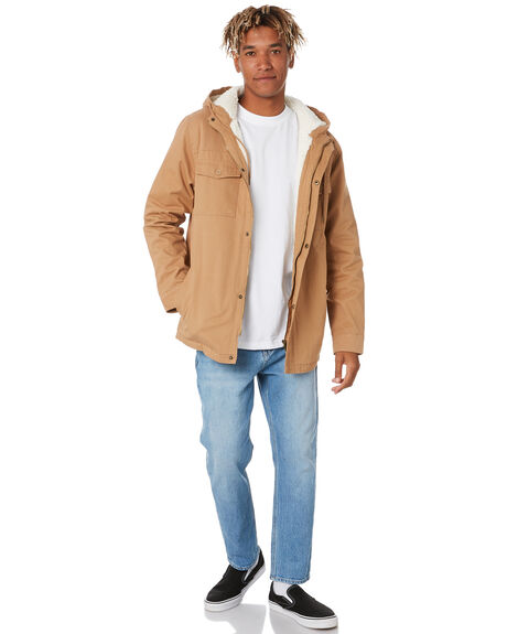 TAN MENS CLOTHING SWELL JACKETS - S5162384TAN
