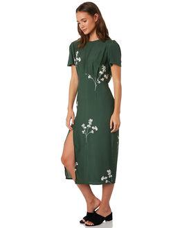 MUSTANG GREEN WOMENS CLOTHING RUE STIIC DRESSES - SA19-12-BMG