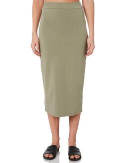MOSS WOMENS CLOTHING BETTY BASICS SKIRTS - BB250W19MOSS