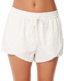 WHITE WOMENS CLOTHING RUSTY SHORTS - WKL0629WHT