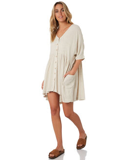 NATURAL WOMENS CLOTHING RIP CURL DRESSES - GDRIB10031