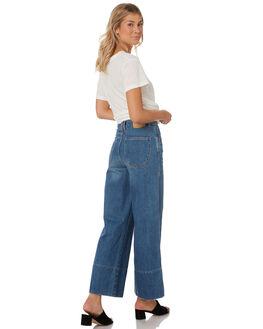 70S BLUE WOMENS CLOTHING THRILLS JEANS - WTDP-420E70BLU