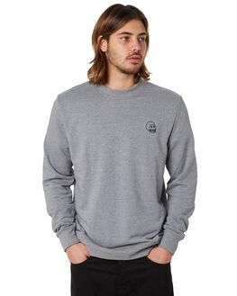 GREY MELANGE MENS CLOTHING CHEAP MONDAY JUMPERS - 0588070GRYM