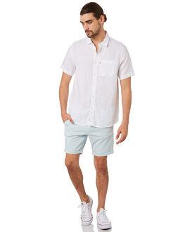 WHITE MENS CLOTHING ACADEMY BRAND SHIRTS - 19S880WHT