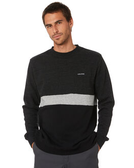 SULPHUR BLACK MENS CLOTHING VOLCOM JUMPERS - A4612007SLF