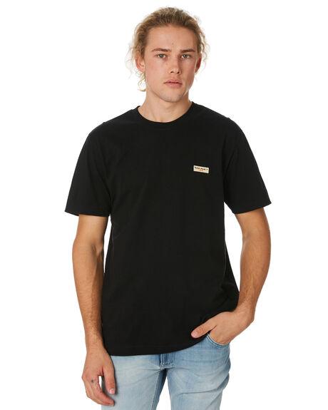 BLACK MENS CLOTHING NUDIE JEANS CO TEES - 131613B01