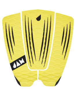 YELLOW BOARDSPORTS SURF JAM TRACTION TAILPADS - TPR3PYEL