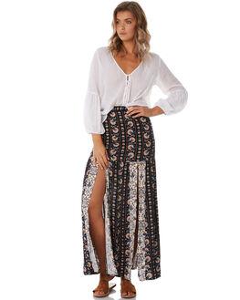 INDIGO WOMENS CLOTHING TIGERLILY SKIRTS - T385278IND