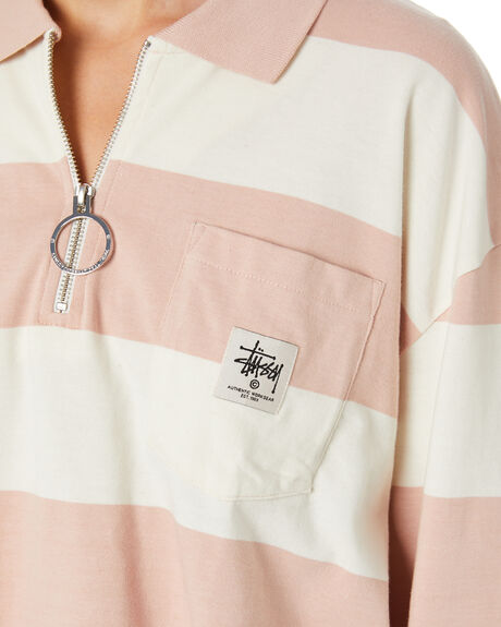 DUSTY PINK WOMENS CLOTHING STUSSY TEES - ST107103SPNK