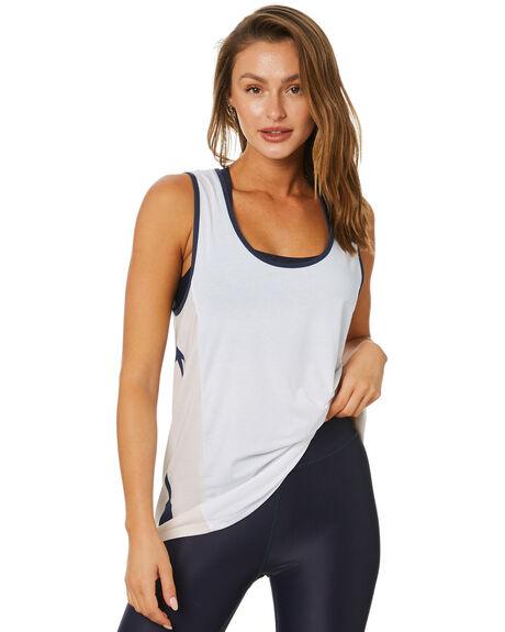 WHITE WOMENS CLOTHING THE UPSIDE ACTIVEWEAR - USW121062WHT