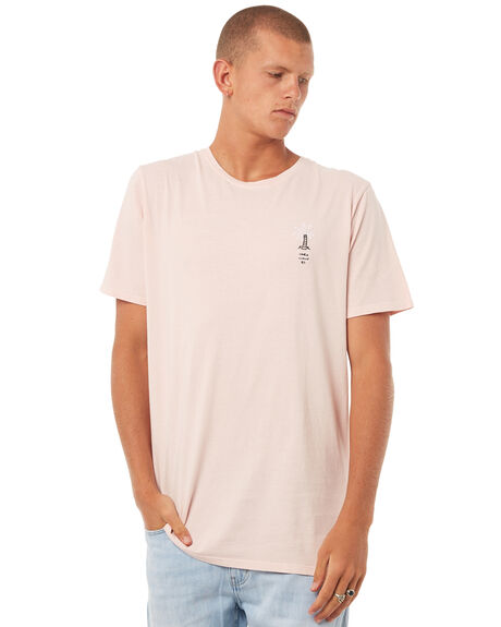 PINK MENS CLOTHING ST GOLIATH TEES - 4308023PNK