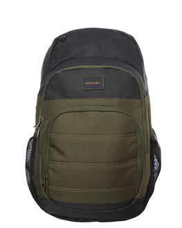 DARK OLIVE MENS ACCESSORIES RIP CURL BAGS + BACKPACKS - BBPZJ29389