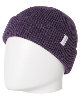HEATHER PURPLE MENS ACCESSORIES COAL HEADWEAR - 207925HPUR