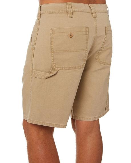 KHAKI MENS CLOTHING DEPACTUS SHORTS - D5202236KHAKI