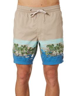 TAN VACATION MENS CLOTHING BARNEY COOLS SHORTS - 606-CC2TVACA