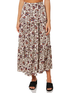 OASIS FLORAL WOMENS CLOTHING THE HIDDEN WAY SKIRTS - H8203472OAFLO