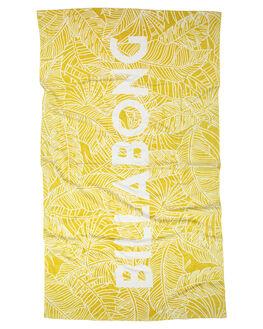 ANTIQUE GOLD WOMENS ACCESSORIES BILLABONG TOWELS - 6672721AANTQ