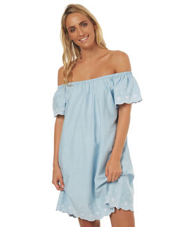 CHAMBRAY WOMENS CLOTHING SWELL DRESSES - S8171468CHAMB