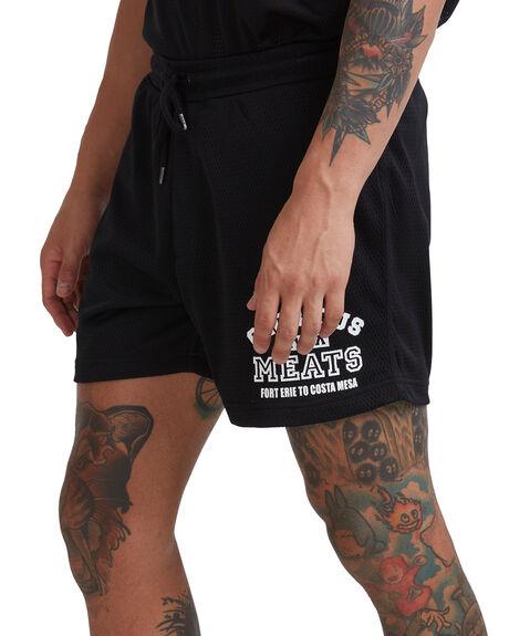 BLACK MENS CLOTHING RVCA BOARDSHORTS - R315407-BLK