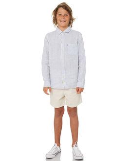 SAND KIDS BOYS ACADEMY BRAND BOARDSHORTS - B19S602SND