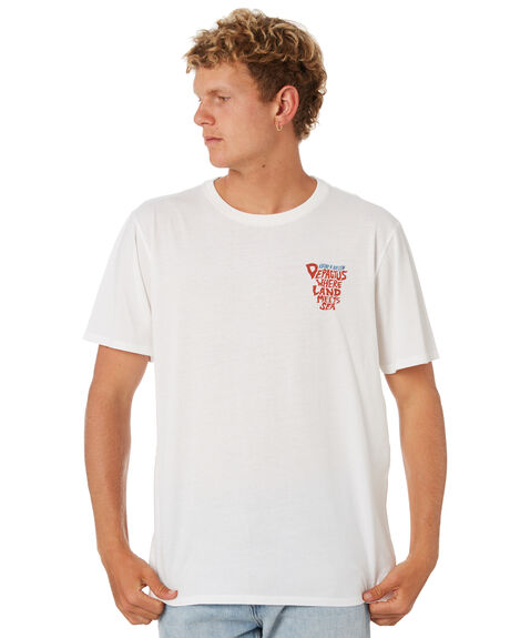 OFF WHITE OUTLET MENS DEPACTUS TEES - D5202013OFFWH
