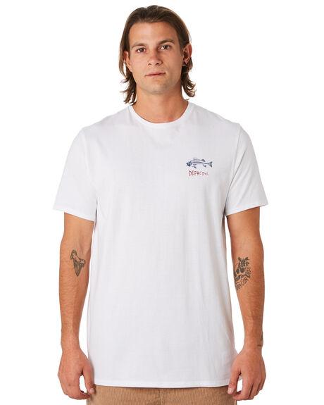 WHITE MENS CLOTHING DEPACTUS TEES - D5171002WHITE